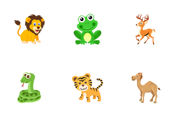 Cute Animals  Icon Pack