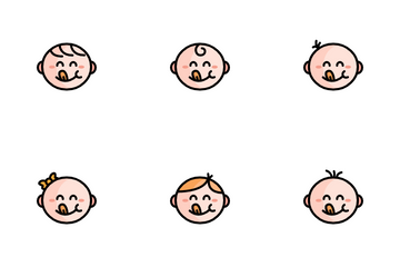 Cute Baby Icon Pack