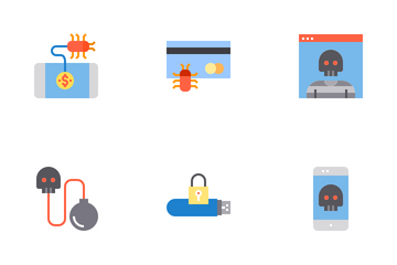 Cyber And Security Icon Pack