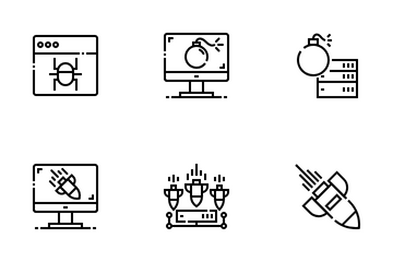 Cyber Attack Icon Pack