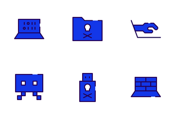 Cyber Crime Icon Pack