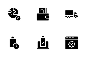 Cyber Monday Icon Pack