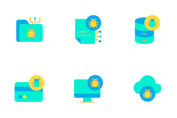 Cyber Security Vol 1 - Flat Icon Pack