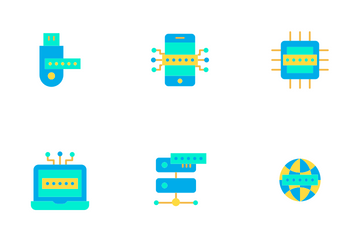 Cyber Security Vol 2 - Flat Icon Pack