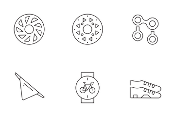 Cycling Icon Pack