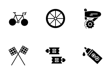 Cycling Icons Icon Pack