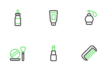 Daily Care & Grooming Icon Pack