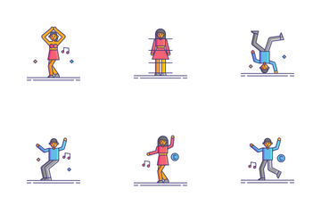Dance Icon Pack
