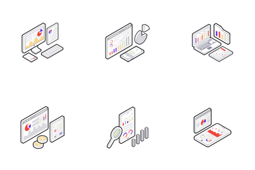 Data Analysis Icon Pack