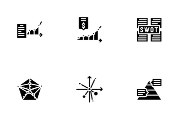 Data Analysis Diagram Icon Pack