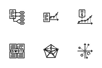 Data Analysis Diagram Icon Pack