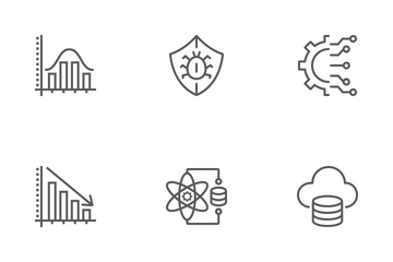 Data Analytics Line Icons Icon Pack