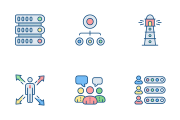 Data And Growth Icon Pack