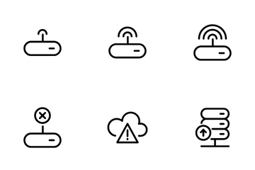 Data And Network Icon Pack