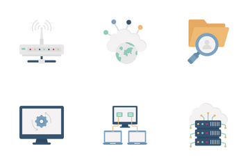 Data And Networking Icon Pack