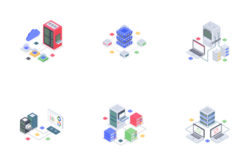 Data Center Icon Pack