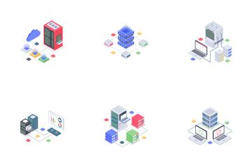 Data Center Icon Pack