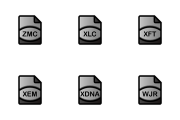 Data File Format Icon Pack