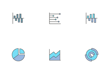 Data Graph And Chart Icon Pack