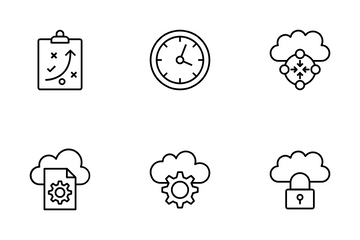 Data Management Icon Pack