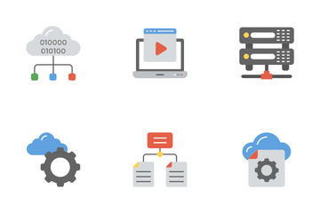 Data Management Flat Icons 2 Icon Pack