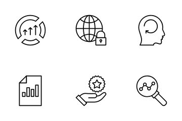 Data Management Line VOL 2 Icon Pack