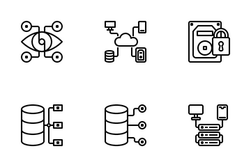 Data Manager Icon Pack