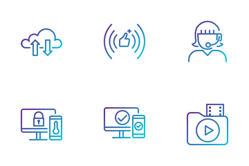 Data Network Icon Pack