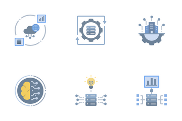 Data Omics Icon Pack