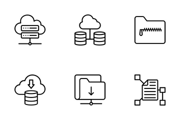 Data Organization Icon Pack