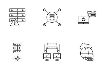 Data Organization Icon Pack