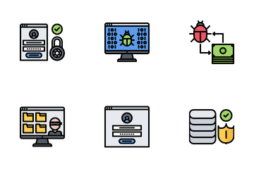Data Protection Icon Pack