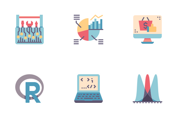 Data Science Flat Icon Pack