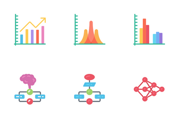 Data Science - Flat Icon Pack