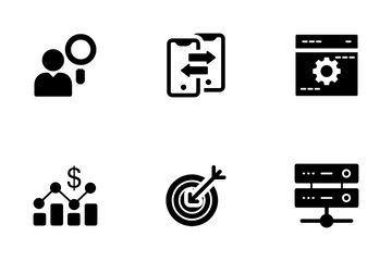 Data Sciences And Data Analytics Icon Pack