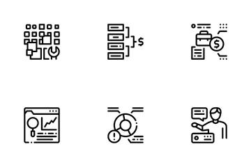 Data Scientist Worker Icon Pack