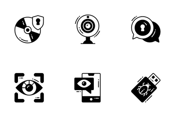 Data Security And Protections Icon Pack