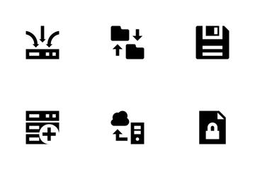 Data Storage Icon Pack