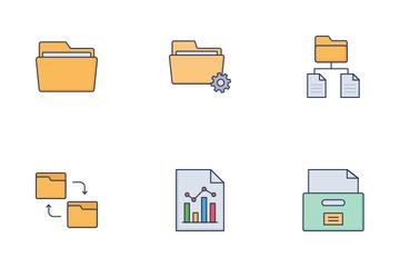 Data Storage Vol 1 Icon Pack