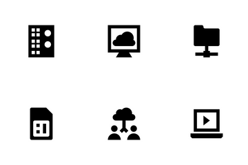 Data Storage Vol 2 Icon Pack