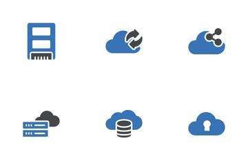Database Storage Icon Pack