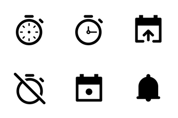 Date And Time Icon Pack