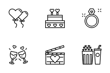 Date Night Icon Pack