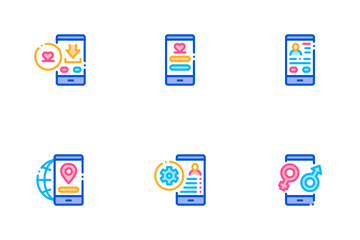 Dating App Icon Pack