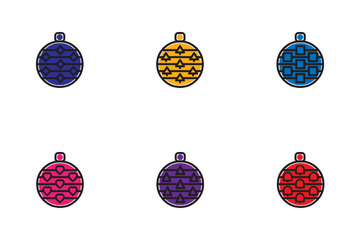 Decoration Ball Icon Pack