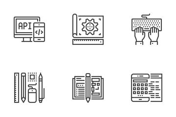 Deisgn And Development Icon Pack