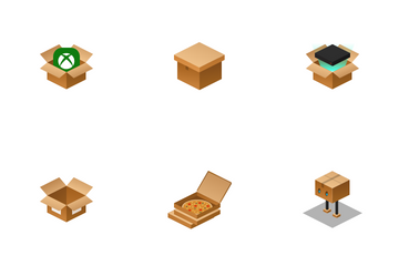 Delivery Box Icon Pack