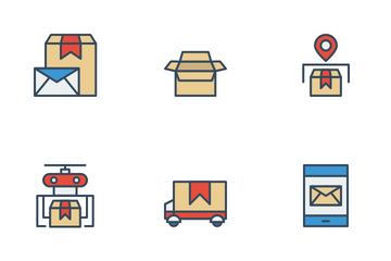 Delivery Order Icon Pack