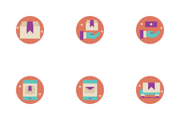 Delivery Service Order Icon Pack