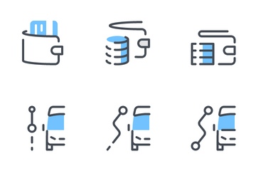 Delivery Services Icon Pack